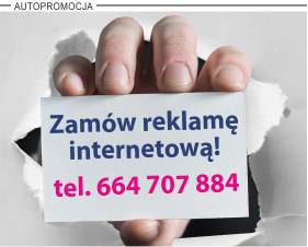 Informacja o możliwości zareklamowania się w gazecie iPleszew.pl